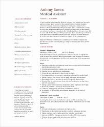 Example Of A Medical Assistant Resumes Resumes Examples For Medical Assistant Bkperennials