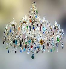 glass chandelier crystals replacement