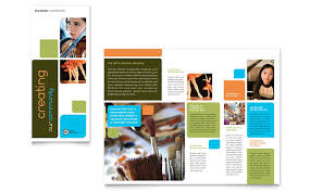 Education Brochure Templates Arts Council Education Brochure Template Design