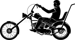 easy rider chopper motorcycle stock illustration image 41560203