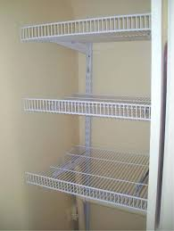 photo gallery for wire closet shelving installation