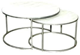 hammary nueva coffee table coffee table silver metal round nesting coffee tables top round nesting tables
