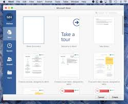 Office Word Format How To Configure Microsoft Word For Mac To Launch With A New