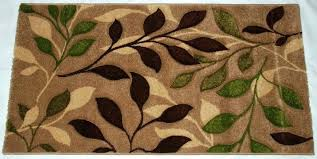 leaf pattern area rugs unbelievable awe com modern rug brown green vine interiors 9 uk green army leaf bath rug