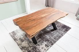 Wohnling Esszimmertisch 200 X 100 X 77 Cm Akazie Landhaus Stil Voll Holz Design Esstisch Rechteckig Tisch Für Esszimmer Baumstamm Küchentisch 8