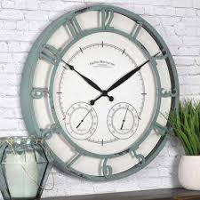 18 in round laa outdoor clock