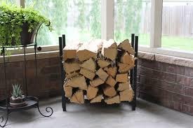 Woodhaven Fireside Collection 2' x 2' Indoor Firewood Rack - 24WRC