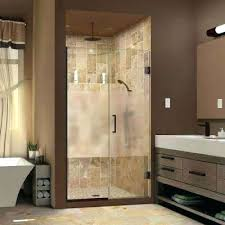 frosted glass shower doors plus to 1 2 in x canada
