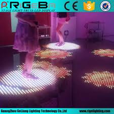 Hot Item Interactive 12 12 Pixels Led Dance Floors For Stage Wedding Light