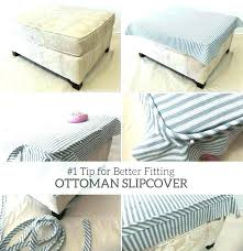 ottoman slip covers chair and ottoman covers well turned picture slipcover for large appealing armchair slipcovers