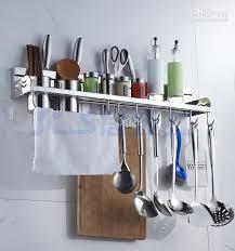 kitchen utensil storage racks new utensil rack for kitchen best 304 stainless steel kitchen rack