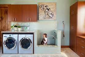 Rustic Laundry Room by Oliver Designs