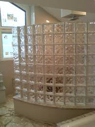 you get all the beauty of a custom built glass block shower without the custom hassle