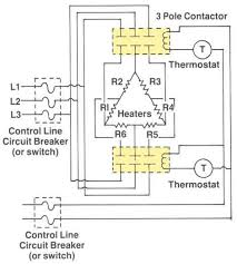 how to wire water heater thermostat 3 phase thermostat wiring