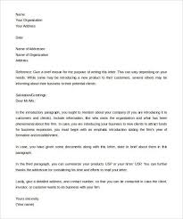 Letter Of Introduction Sample Free Letter Of Introduction