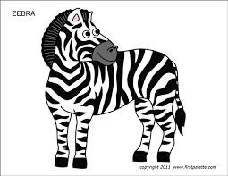 If you want zebra picture for coloring. Zebra Free Printable Templates Coloring Pages Firstpalette Com