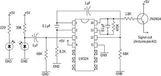 easily take a pulse a infrared pulse sensor make schematic physical op amp representation