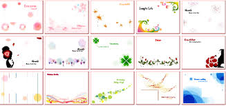 cards templates photo card maker provides hundreds of free photo card templates for