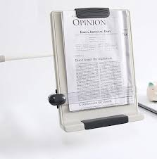 desk top book doent reading stand flex arm book copy holder clamp type bch 07