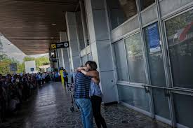 small number of texas companies seek contract for border wall central america la union jose greets his wife rosa as she