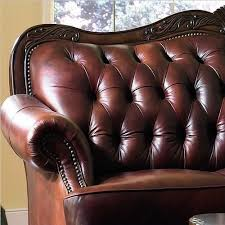brown leather sofa sets. Modren Leather Victoria Classic Button Tufted Leather Sofa Set To Brown Sets