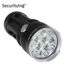 Securitying Lights Securitying 4200lm Super Bright Led Flashlight Torch