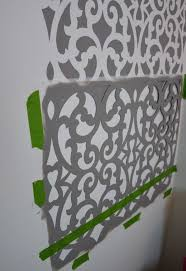 bedroom stencil ideas. before after a colorful small gray bathroom with wall stencil, ideas, painting bedroom stencil ideas e