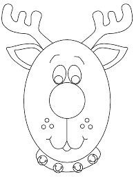 Free printable resources for kids and adults Reindeer Head Coloring Pages Coloring Home