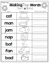 Phonetic quizzes as worksheets to print. 47 Free Kindergarten Reading Worksheets Picture Inspirations Samsfriedchickenanddonuts