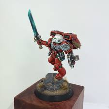 blood angels sanguinary priest premium commission miniature painting service siege studios