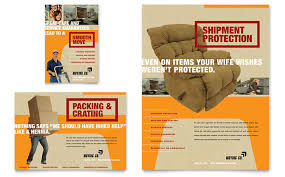 Moving Flyer Template Movers Moving Company Flyer Ad Template Design