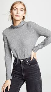 Madewell Whisper Cotton Turtleneck Shopbop Save Up To 25