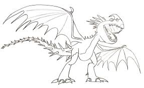 Small Picture How to Train Your Dragons Coloring Pages