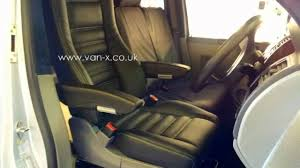 vw t5 captain leather seat from van x co uk