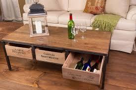 vino vintage coffee table our vino