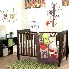 animals crib bedding animal crib bedding owls fox rac forest animals neutral nursery 3 baby crib