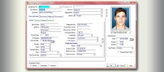 Employee Records Forms Master File Template Free Download In Php