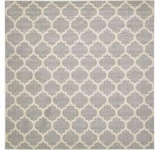 10 x 10 trellis square rug