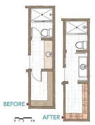 The 25 Best Small Narrow Bathroom Ideas On Pinterest  Narrow Small Narrow Bathroom Floor Plans