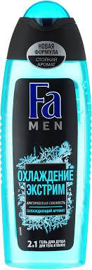 <b>FA MEN Гель</b> для <b>душа</b> Охлаждение Экстрим, 250 мл — купить в ...