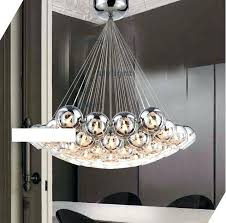 oversized glass pendant light hanging chandelier cer lights modern crystal ball lamp pendant lamp glass stair