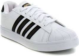 <b>White Canvas Shoes</b>