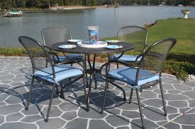 Black Wrought Iron Patio Furniture  TechethecomWrought Iron Outdoor Furniture Clearance