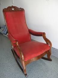 Mennonite Furniture Kitchener Redux Antique Glider Rocker Heritage High Back 4 Post