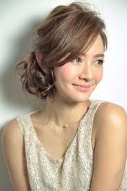 髪型アップ前髪長いの画像検索結果 髪型httpsipinimgcom736x
