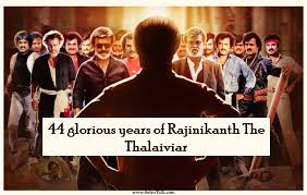44 Glorious Years Of Rajinikanth The Thalaiviar Astrotalk
