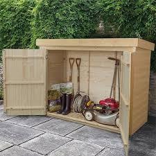 garden storage outdoor storage