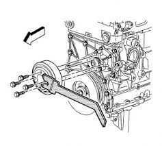 2002 chevy trailblazer replace water pump engine cooling problem remove the belt pully and pump