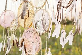 Beach Dream Catchers Bohemian Wedding Decor 100 Ideas for a Dreamcatcher Wedding 71