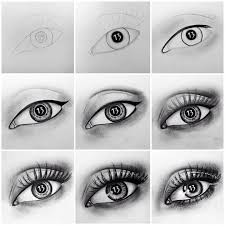 How To Draw Eyes Step By Step How To Draw A Real Eye Step By Step By Christina Ducharme